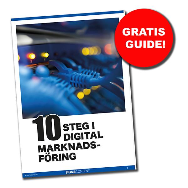 Mattias Brännholm har skrivit en e-book om grunderna i digital marknadsföring.