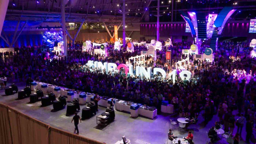 Inbound marketing convention in Boston attracts 25.000 visitors each year.