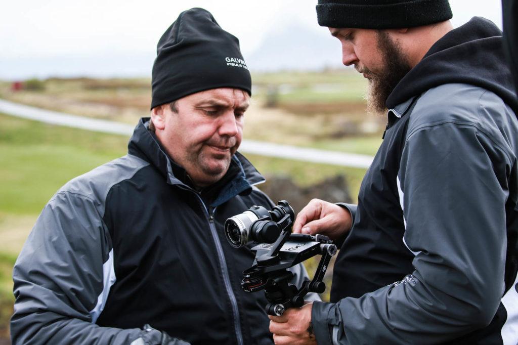 DJIs Osmo-kamera användes under filmproduktionen på Lofoten.