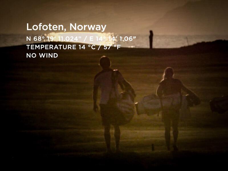 Expedition Lofoten hette Galvin Greens kampanj när dom lanserade en ny produktlinje 2017. Det var Mattias Brännholm som producerade filmerna till kampanjen.